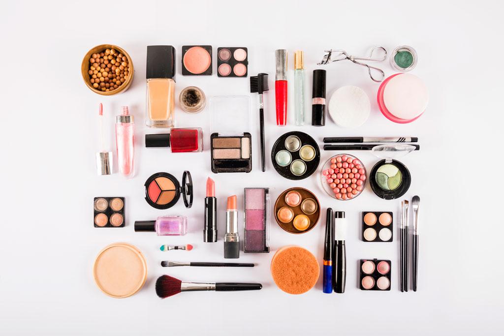 Verschiedene Kosmetik