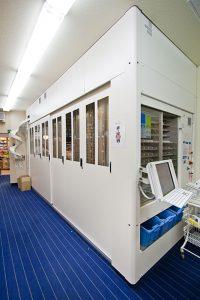 Der Lagerautomat.