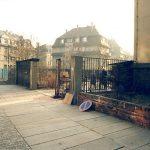 Januar 1992: Besichtigung des Gebäudes auf der Wurzener Straße 5